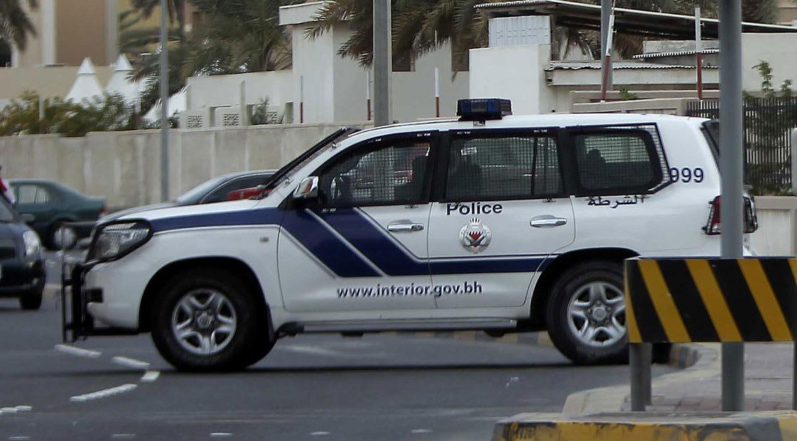 صورة أرشيفية لسيارة شرطة بحرينية