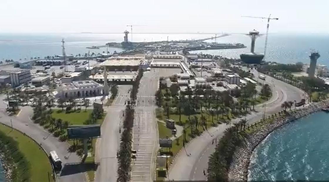 صورة أرشيفية من جسر الملك فهد