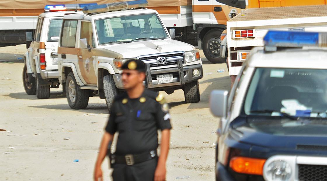 صورة أرشيفية (تعبيرية) لرجل أمن في السعودية