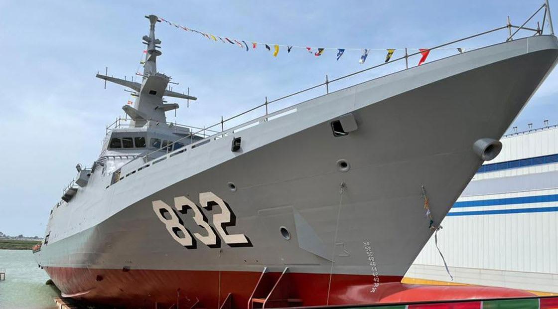 """السفينة الحربية """"جلال الملك حائل"""""""
