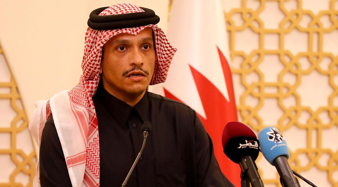 صورة أرشيفية لوزير الخارجية القطري، الشيخ محمد بن عبدالرحمن