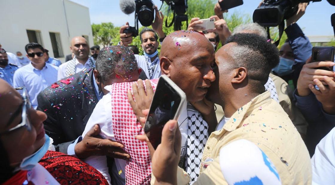 استقبال عبدالله أبوجابر