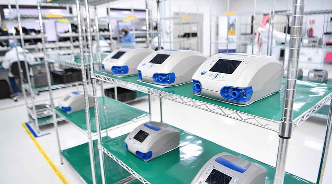 أول جهاز تنفس صناعي يصنع في السعودية