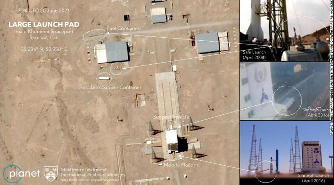 الصور الفضائية التي التقطتها بلانيت
