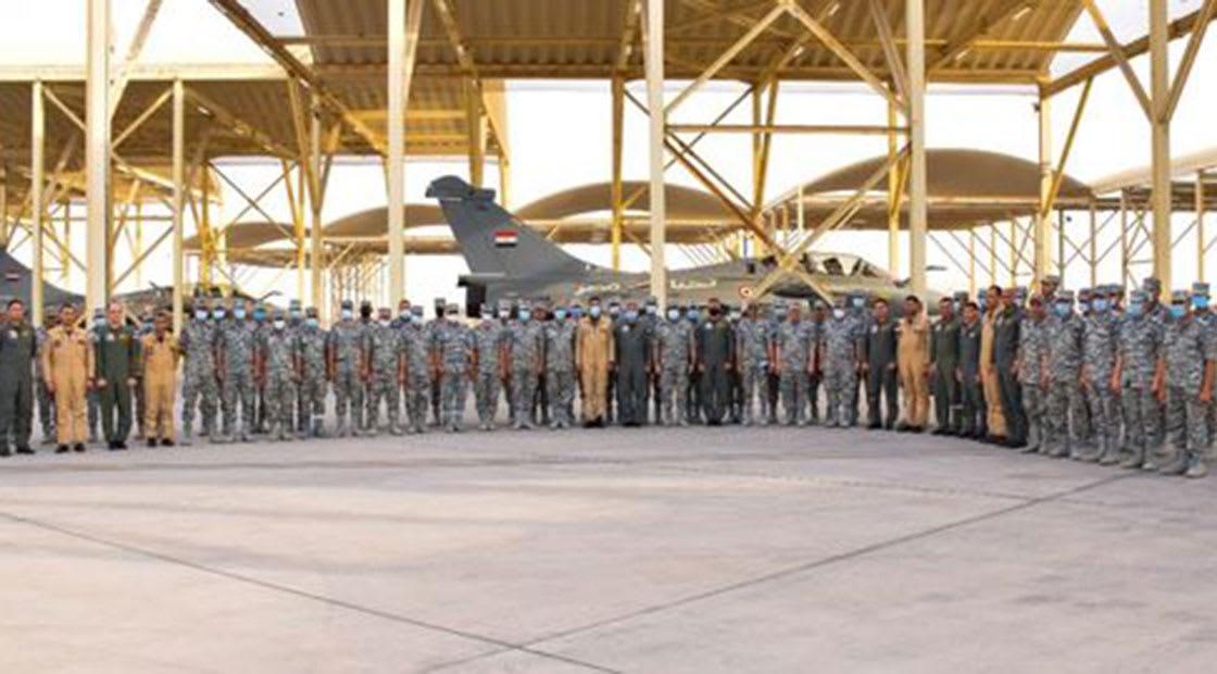 صورة نشرها المتحدث باسم القوات المسلحة المصرية