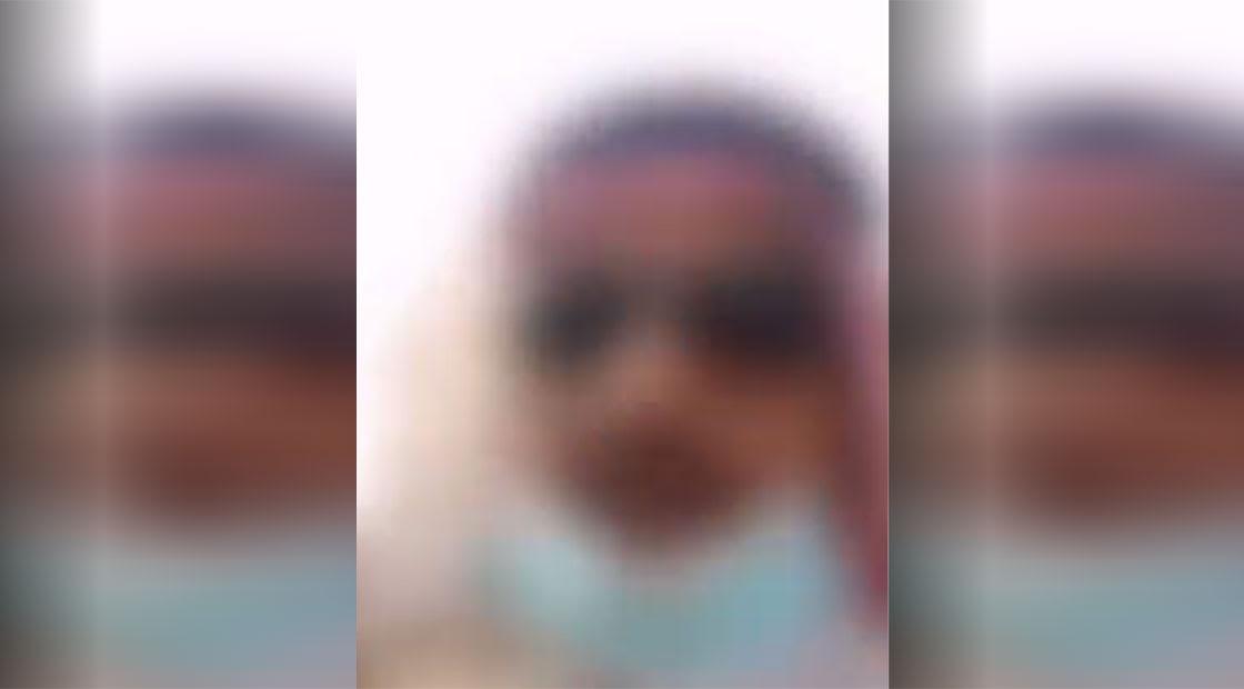 صورة من مقطع الفيديو المتداول مموها كما نشرته الداخلية السعودية