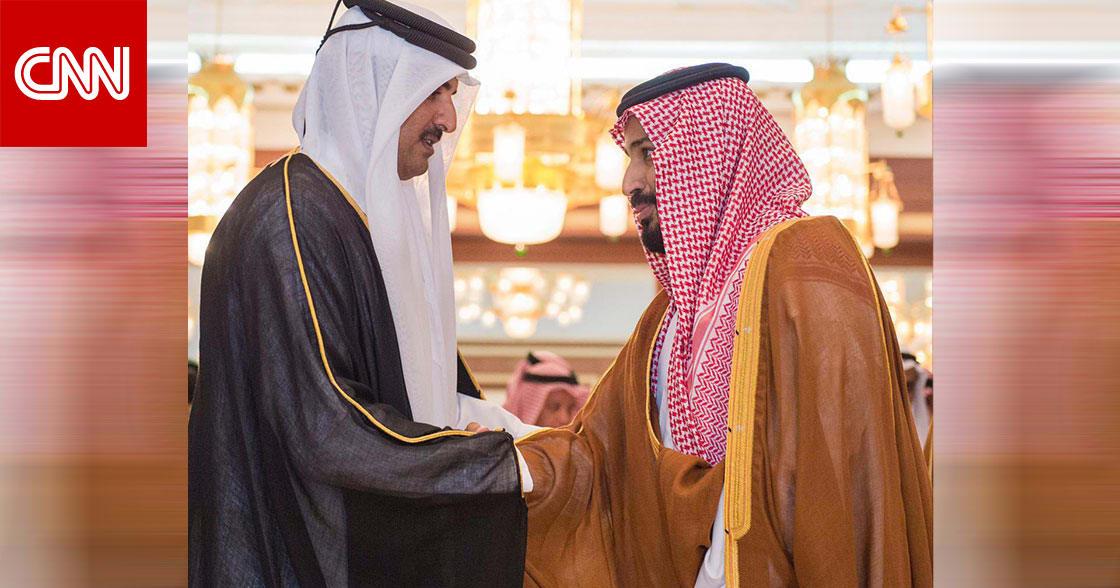 """ولي عهد السعودية يتصل بأمير قطر واستعراض مبادرتي """"السعودية الخضراء"""" و""""الشرق الأوسط الأخضر"""""""