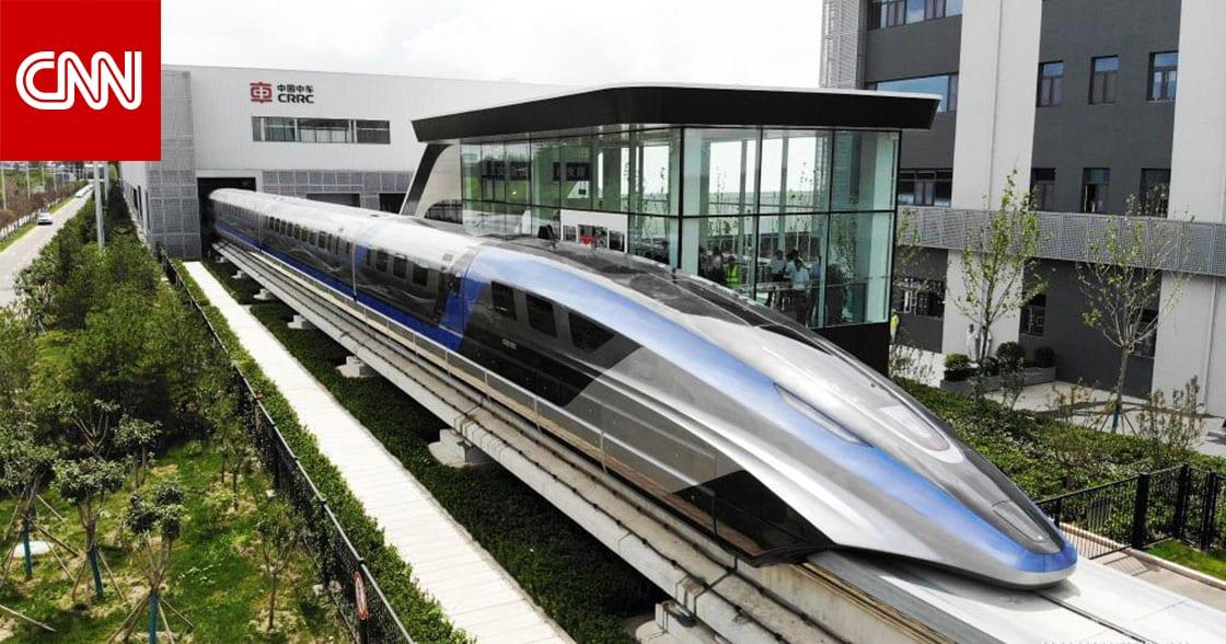 """الصين تنهي انتاج """"أسرع قطار على وجه الأرض"""" بنظام النقل المغناطيسي"""