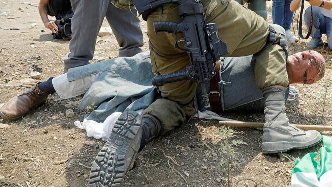 """شاهد.. """"جورج فلويد"""" الفلسطيني يروي قصته لـCNN.. والجيش الإسرائيلي يتهمه بـ""""الشغب"""""""