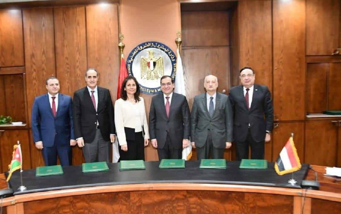 مصر تزود الأردن بنصف احتياجاتها من الغاز الطبيعي في 2019