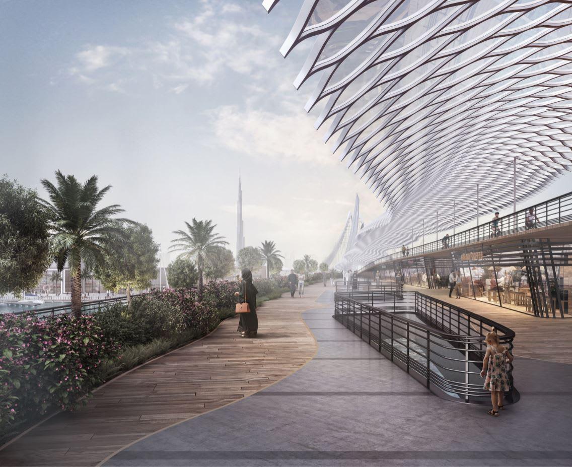 مستوحى من حدائق بابل المعلقة.. تعرف إلى جسر المشاة المبهر الذي تخطط دبي له