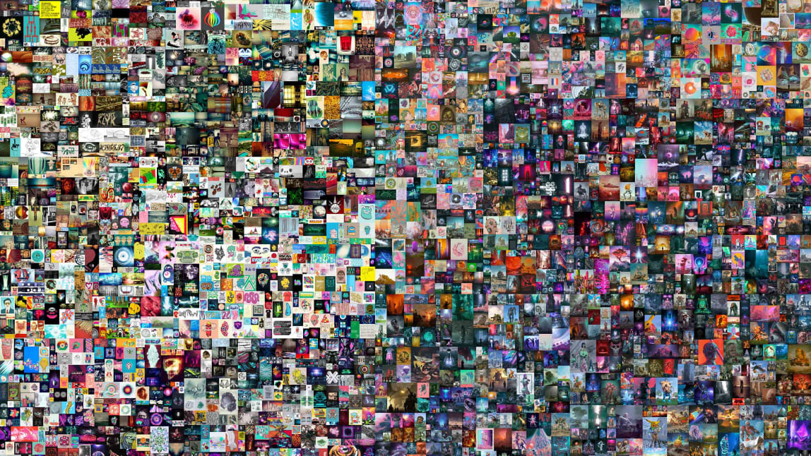 مكون من 5000 صورة التُقطت على مدار 13 عام..بيع عمل فني رقمي لأول مرة في تاريخ المزادات