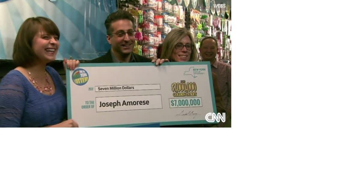 بطاقة تمني بالشفاء بمبلغ 7 ملايين دولار لأمريكي من بنسلفانيا
