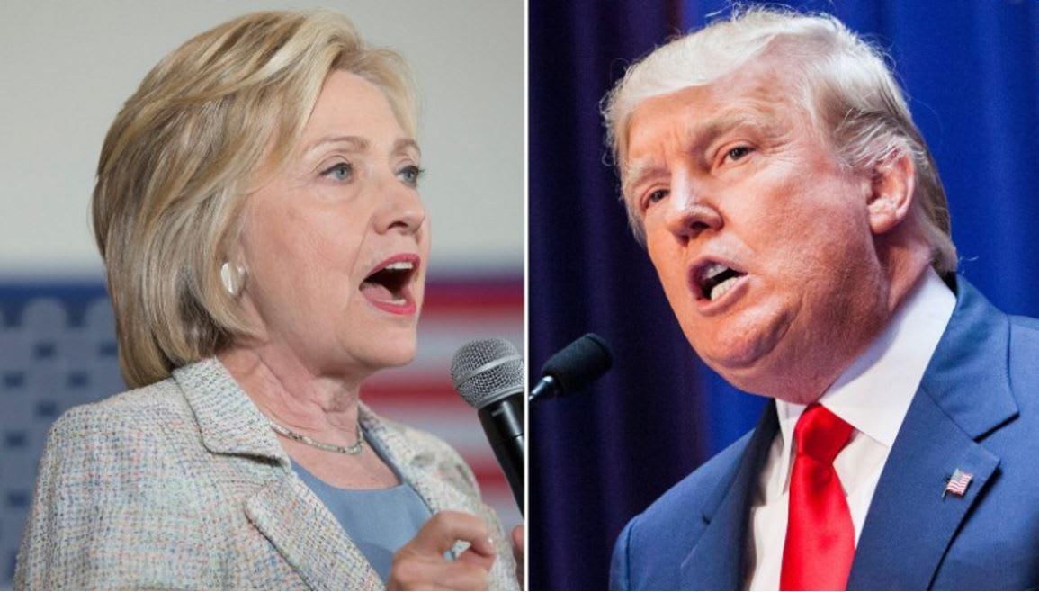 """نتائج الانتخابات التمهيدية """"السوبر"""" في 10 ولايات أمريكية: انتصارات كبيرة لكلينتون وترامب"""
