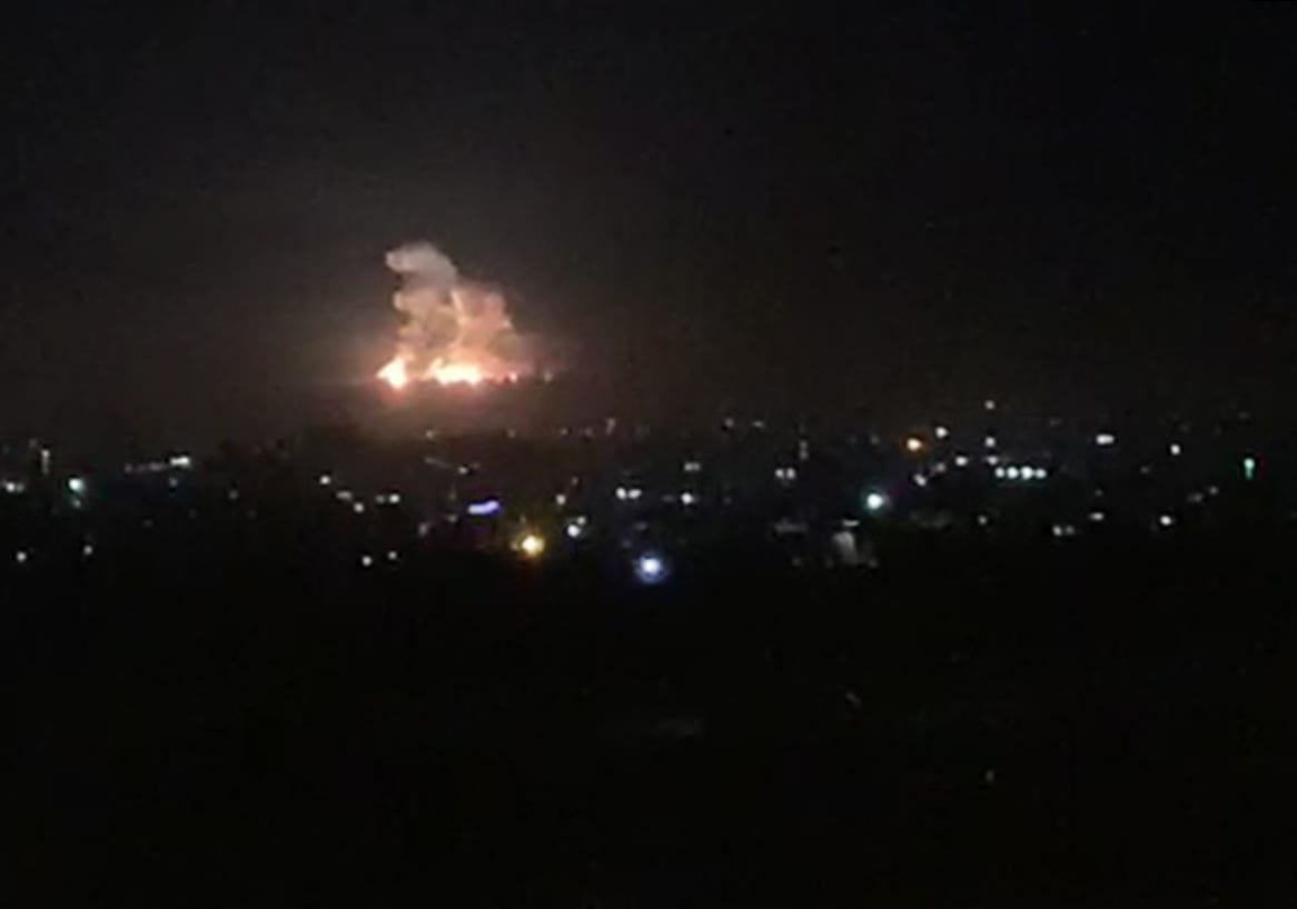 غارات إسرائيلية على مواقع تابعة للنظام السوري في دمشق
