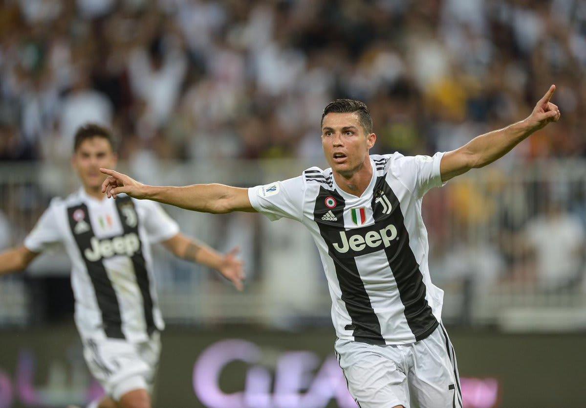 رونالدو يحسم السوبر الإيطالي ليوفنتوس أمام ميلان في جدة