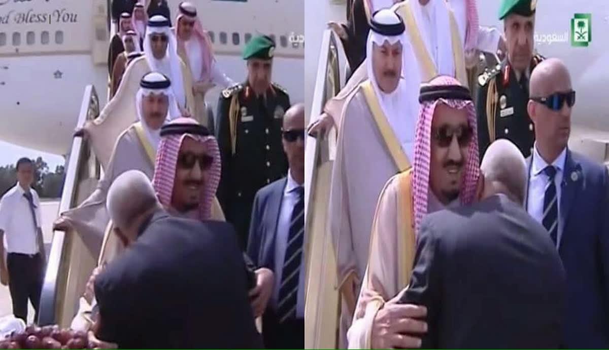 إثر انتقادات واسعة.. بنكيران يوّضح أسباب سلامه على الملك السعودي بتقبيل الكتفين