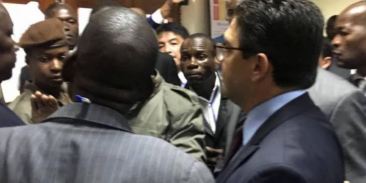 تدافع وتلاسن في مؤتمر بالموزمبيق بسبب موقف المغرب واليابان من حضور  البوليساريو