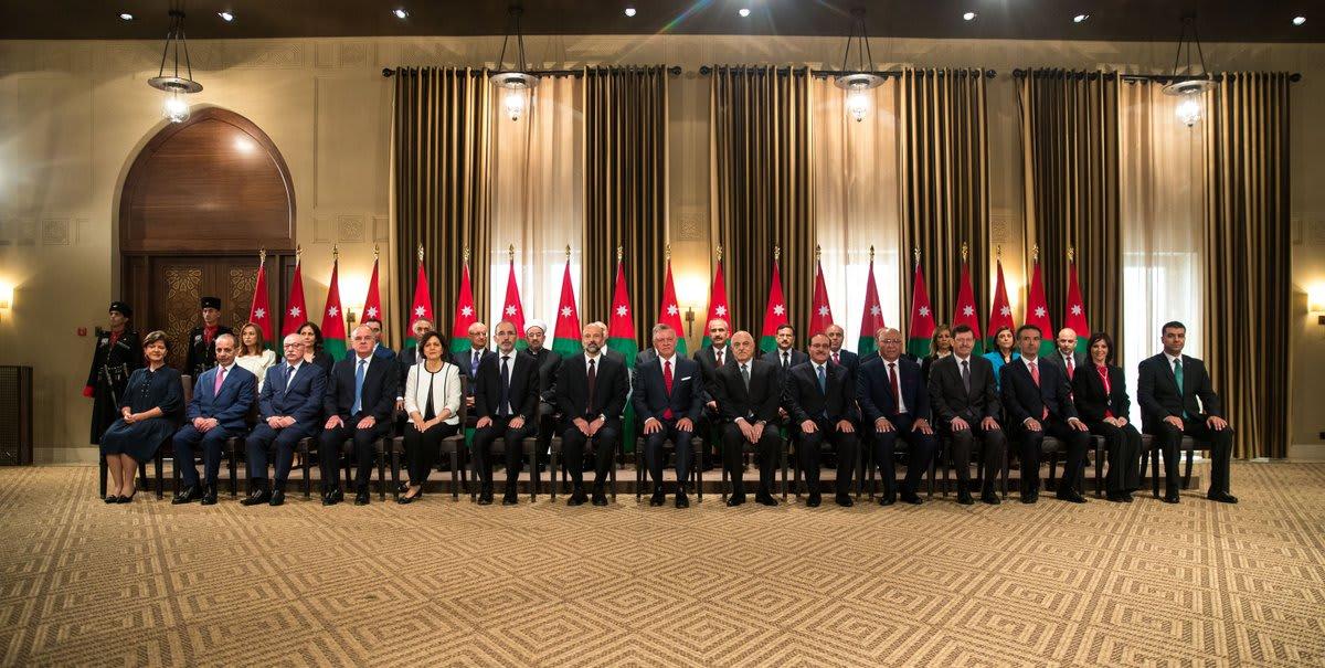 الحكومة الأردنية الجديدة تؤدي اليمين القانونية و7 حقائب نسائية للمرة الأولى