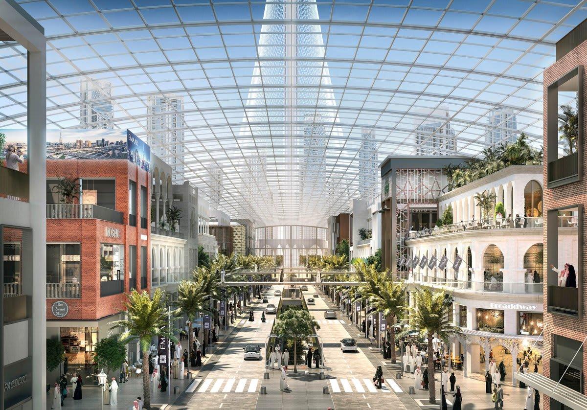 """إطلاق مشروع """"دبي سكوير"""".. الوجهة التجارية الجديدة للمدينة"""