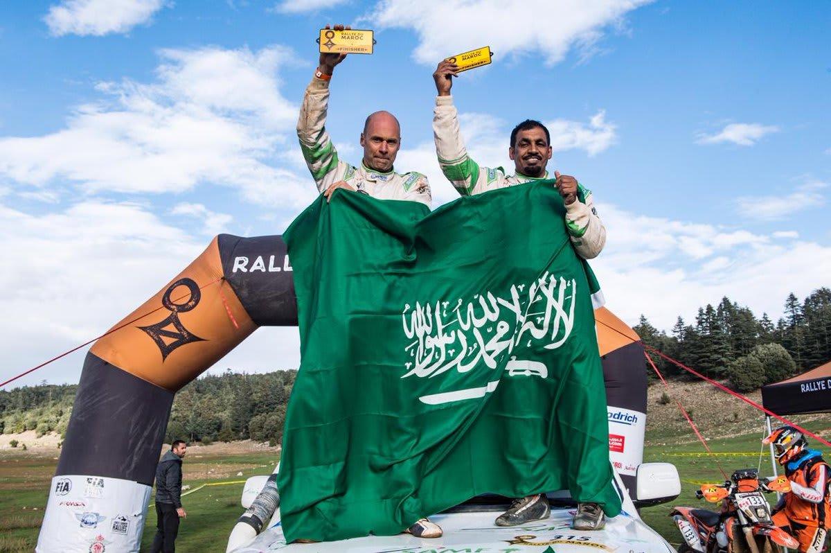 بين كثبان المغرب.. تتويج السعودي الشقاوي ببطولة العالم للراليات
