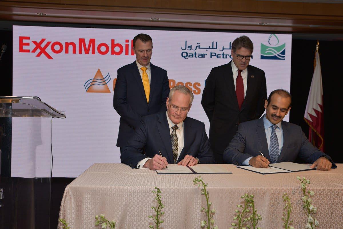 قطر تستثمر مليارات الدولارات في مشروع غاز أمريكي