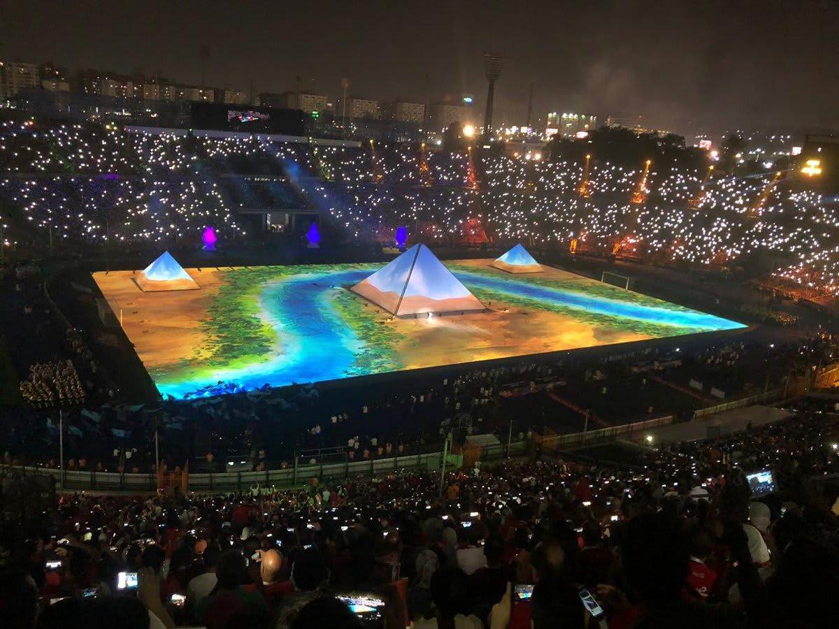 افتتاح كأس الأمم الأفريقية