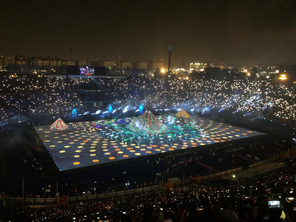 افتتاح كأس الأمم الأفريقية في مصر