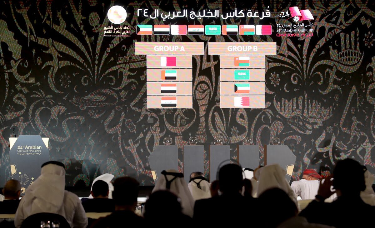 قرعة كأس الخليج العربي 24 لكرة القدم