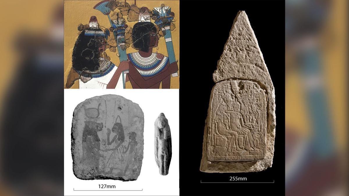 مخاريط الرأس في مصر القديمة