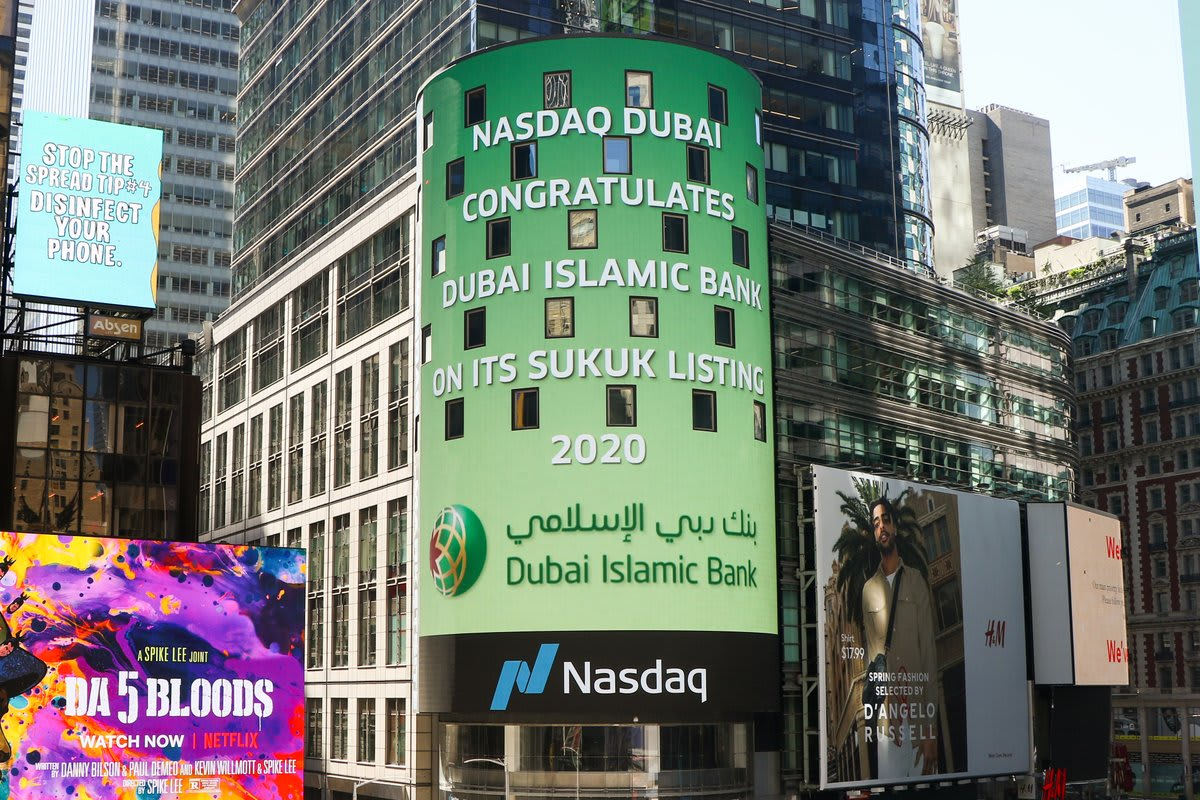 بنك دبي الإسلامي يدرج صكوكاً بمليار دولار في بورصة ناسداك دبي