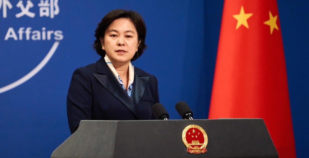 هوا تشونينغ المتحدثة باسم وزارة الخارجية الصينية