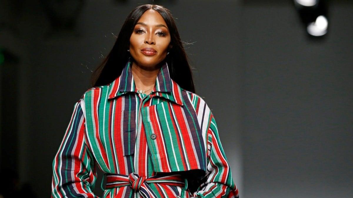 نعومي كامبل تحتفل بمرور 30 عاماً كعارضة أزياء