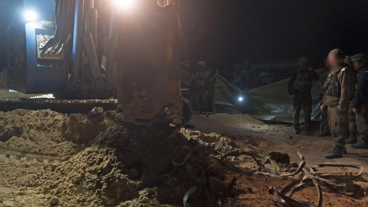 الجيش الإسرائيلي يعلن تدميره لنفق ثانٍ بغزة خلال 6 أسابيع