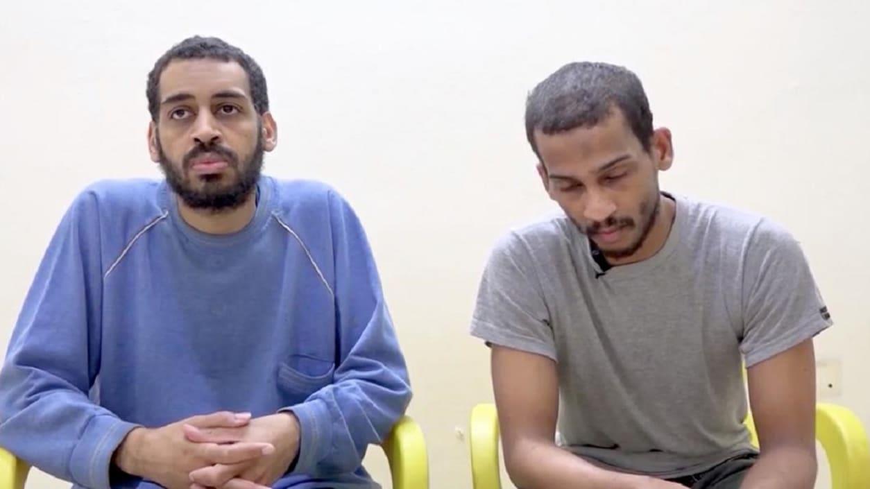 """""""بيتلز داعش"""" يقرران الاعتراف بجرائمهما للذهاب إلى أمريكا"""
