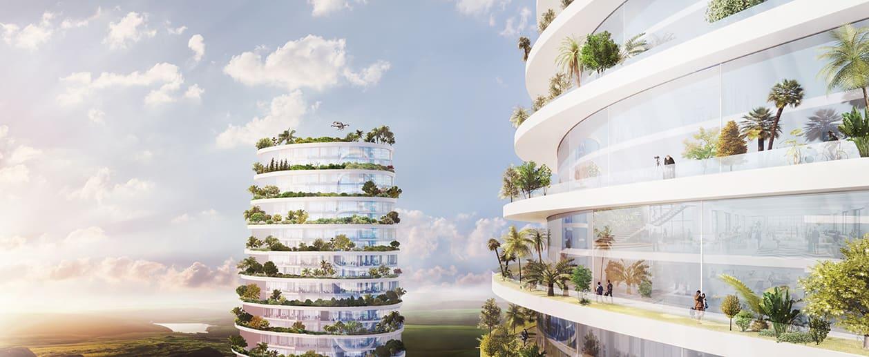 ألق نظرة على المدن العمودية التي قد نعيش فيها في المستقبل يوما ما
