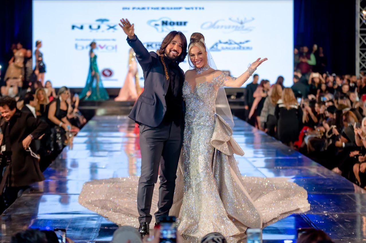 فستان نيكول سابا يثير الجدل بسبب سعره الذي وصل إلى 10 مليون دولار
