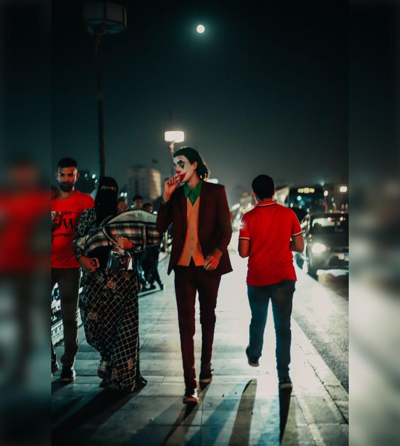 الجوكر في مصر.. ملصقات غرافيكية وصور تجسد تجربة الجوكر بالشوارع المصرية