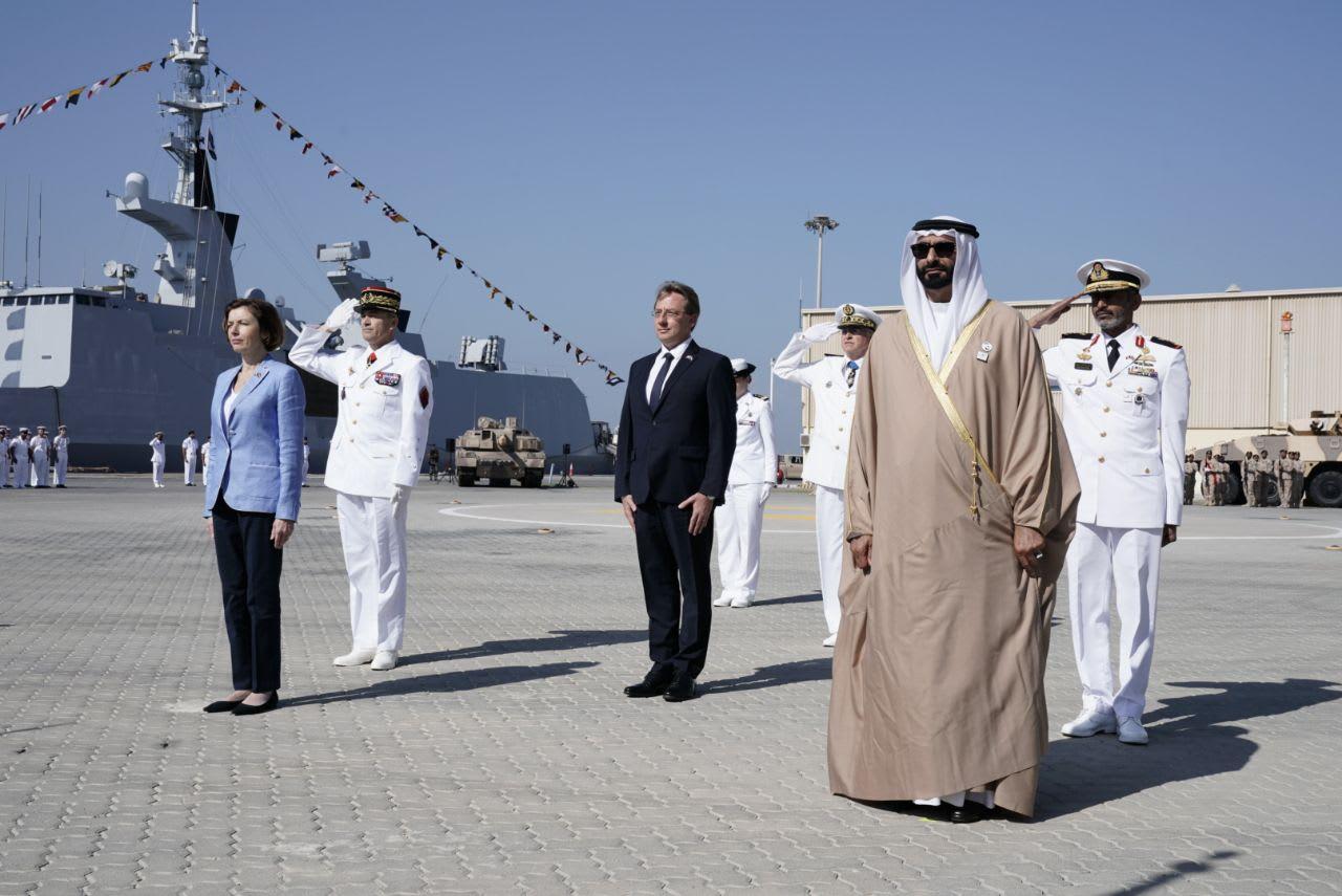 وزيرة الدفاع الفرنسية فلورنس بارلي تزور الإمارات