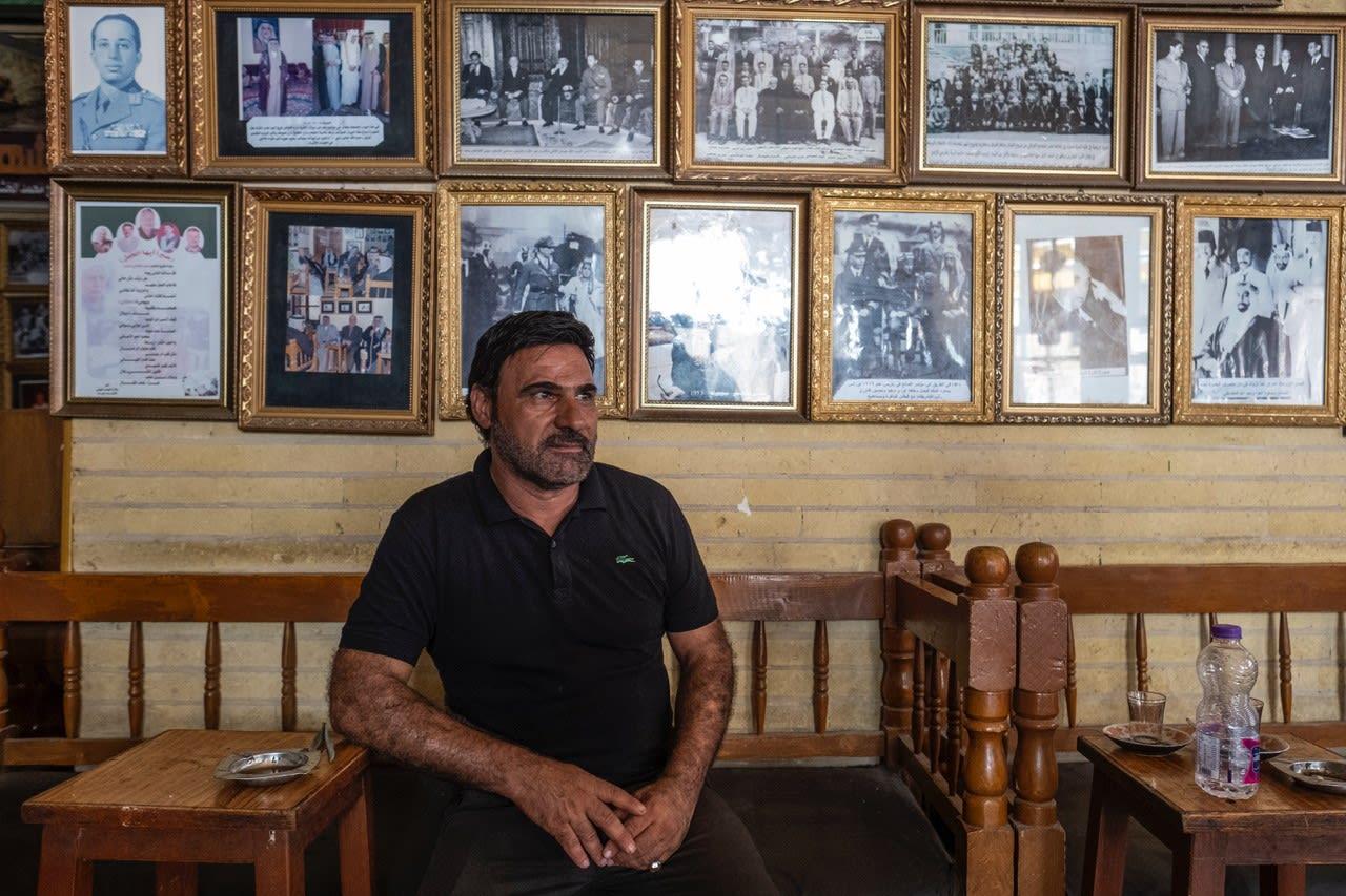 """ مقهى """"الشابندر"""" في العراق"""