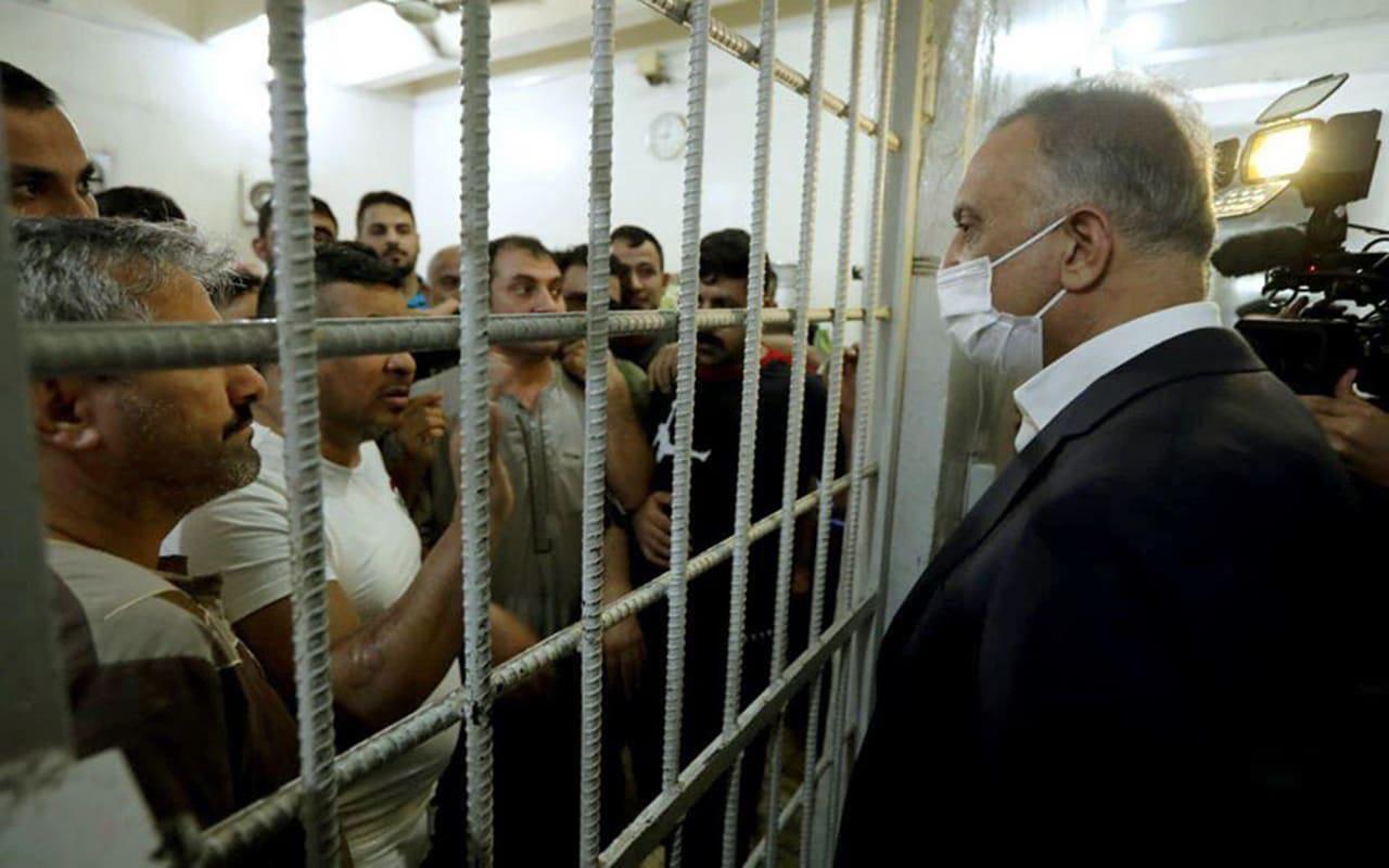 زيارة مفاجئة من رئيس وزراء العراق إلى سجن المثنى
