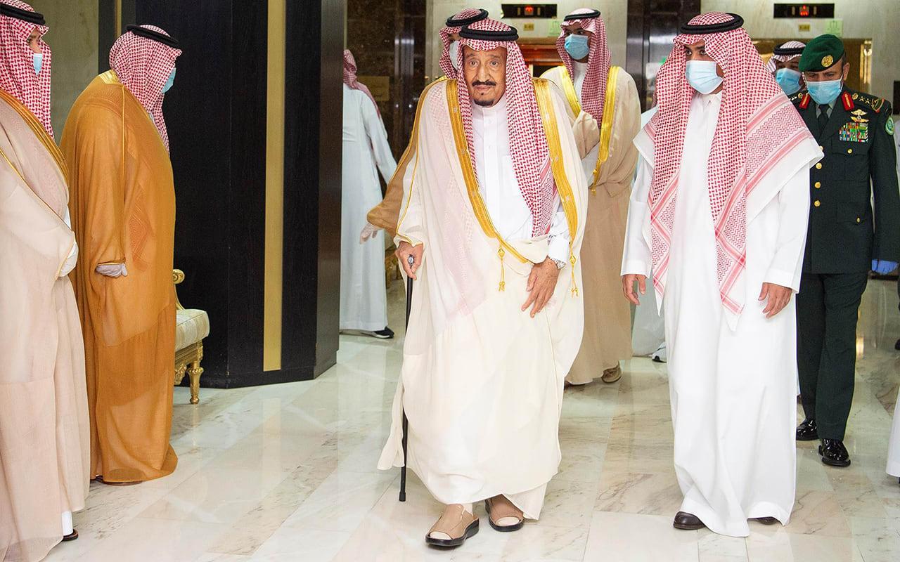 بعد خروجه من المستشفى.. أول تغريدة من الملك سلمان بمناسبة عيد الأضحى