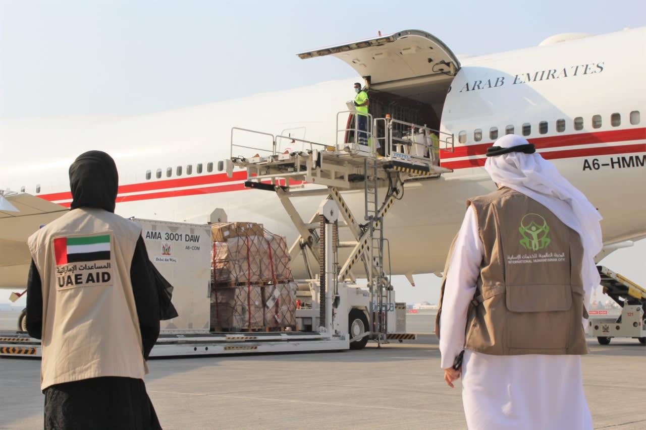 الإمارات مساعدات
