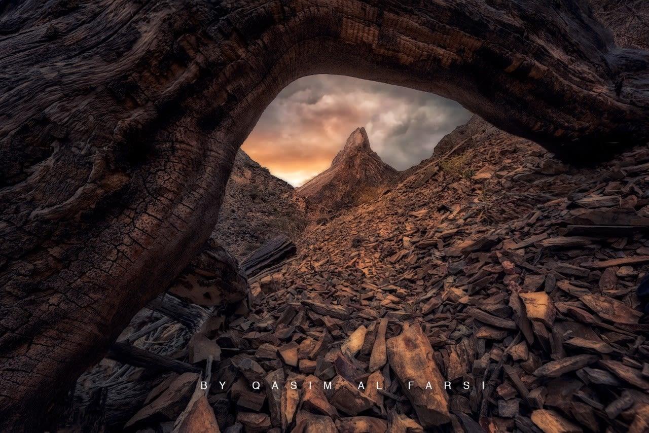 وادي بني عوف في سلطنة عمان