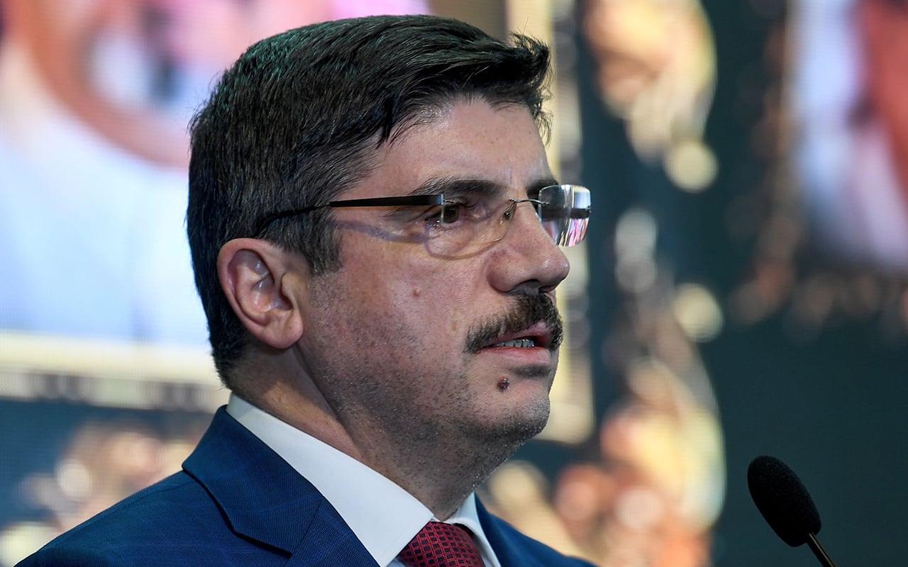 ياسين أقطاي مستشار أردوغان