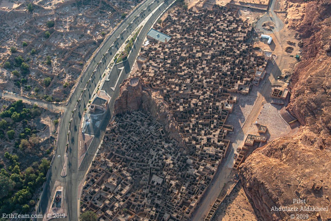 بلدة العلا القديمة في سعودية
