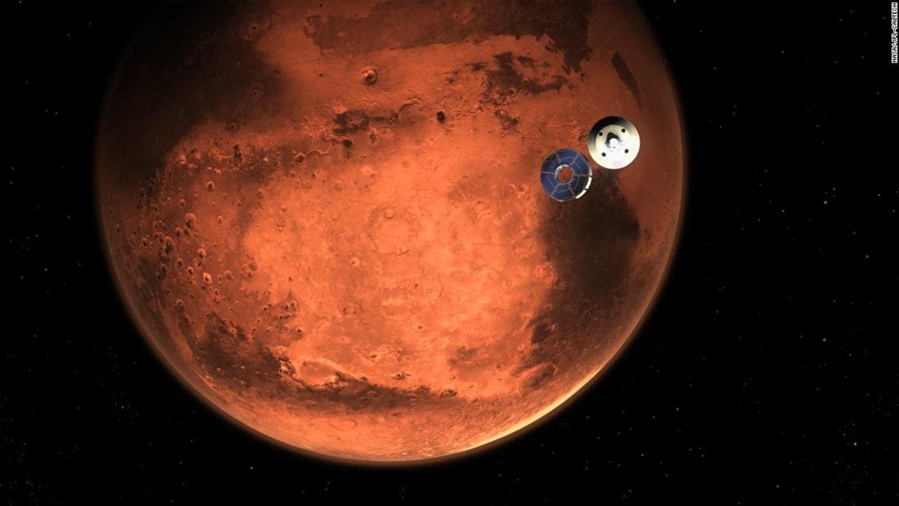 سبع دقائق مرعبة تمر بها مركبة ناسا قبل هبوطها كوكب المريخ 178028