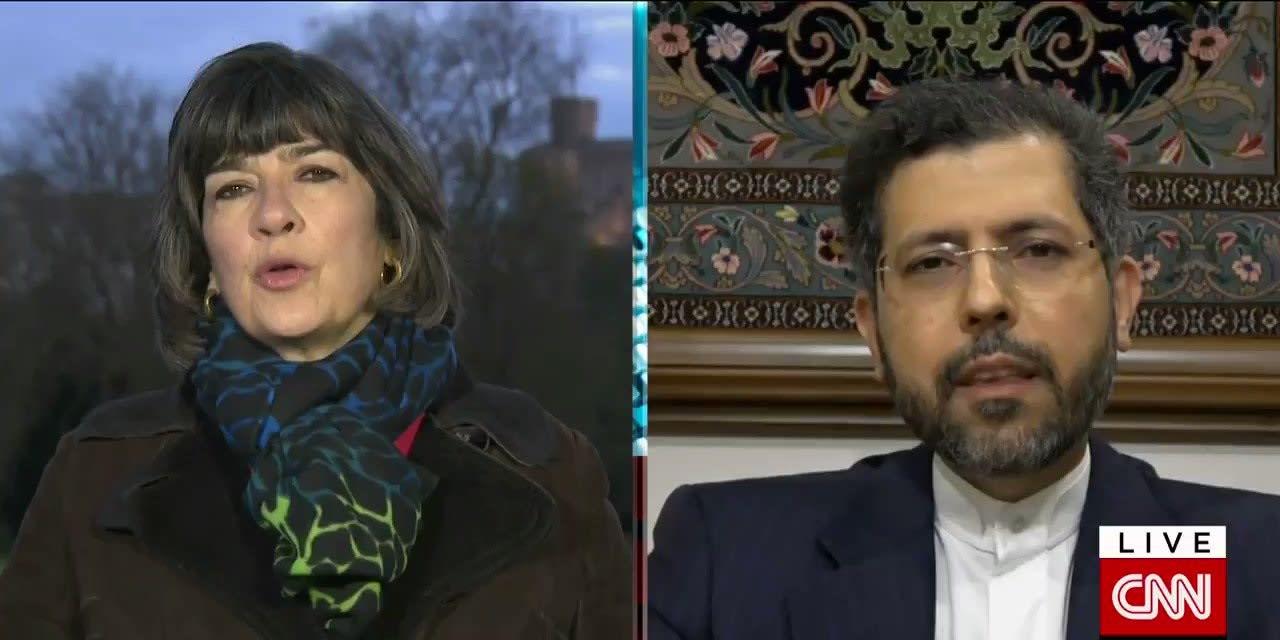 المتحدث باسم الخارجية الإيرانية في لقائه مع كريستيان أمانبور