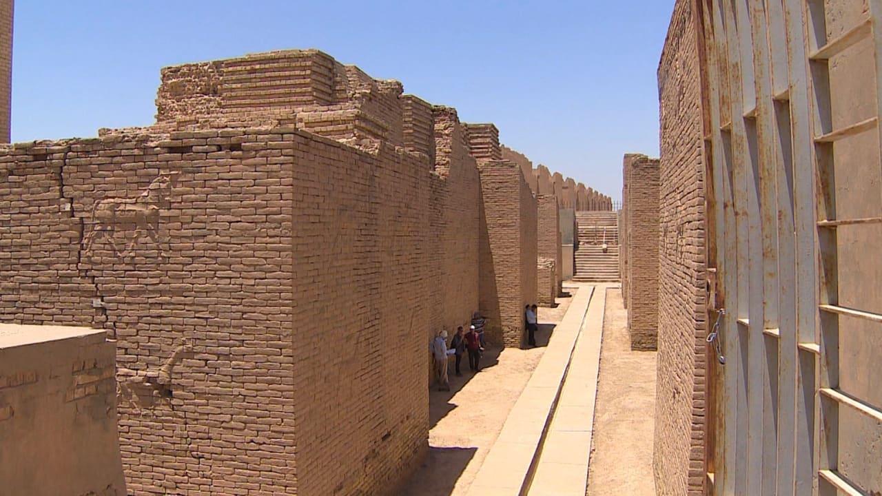 بالفيديو.. مدينة بابل القديمة.. بين أطماع صدام حسين وشبح داعش