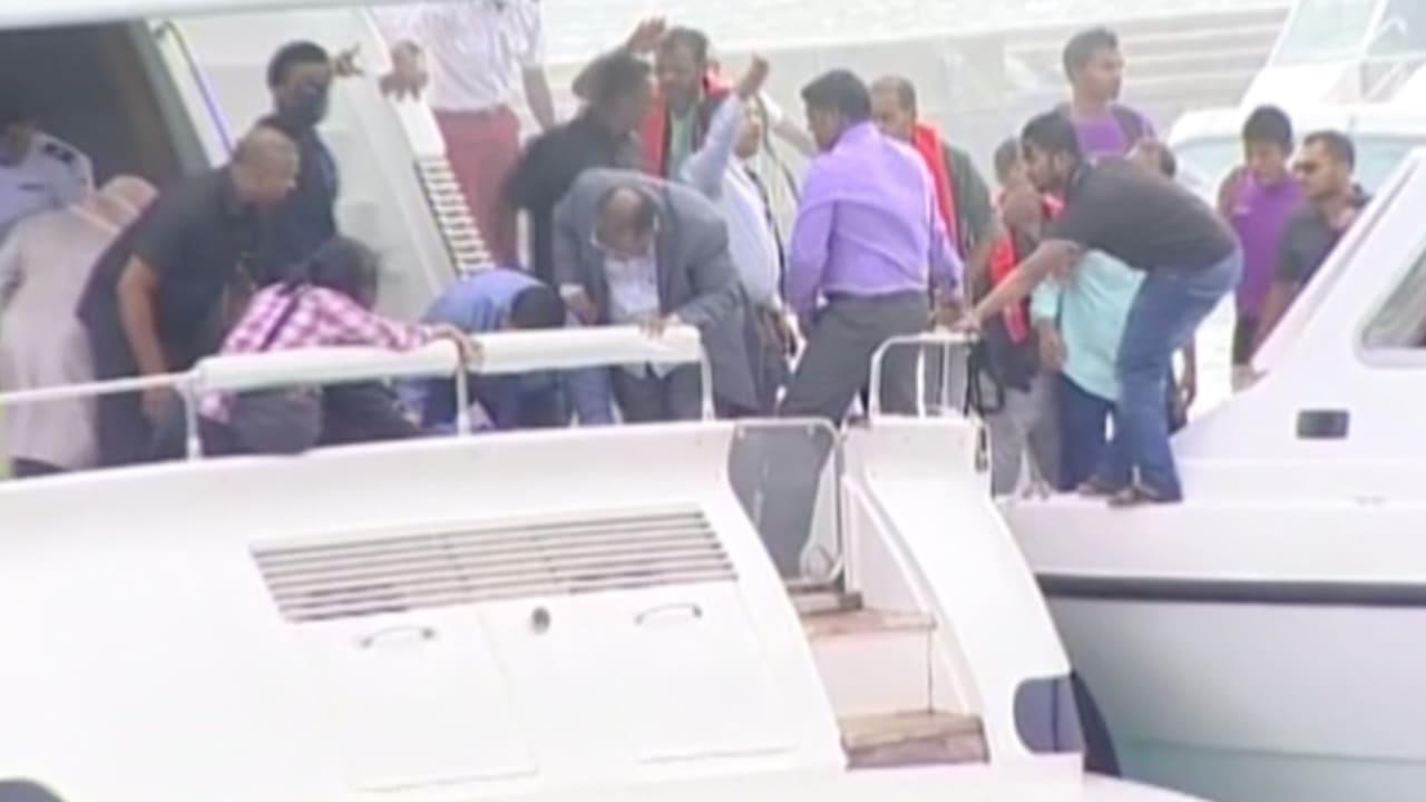 """بالفيديو.. نجاة رئيس المالديف من انفجار على زورقه.. والسلطة لا تستبعد أن يكون """"مدبرا"""""""